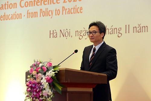 Phó Thủ tướng Vũ Đức Đam phát biểu tại Hội thảo - Ảnh: VGP/Đình Nam